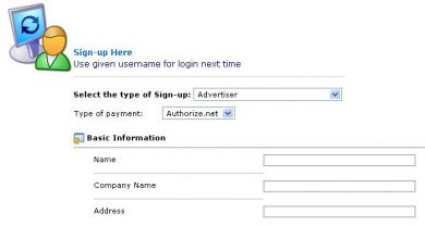 Self signup for Advertiser/Publisher with Authorize.net (all permissions)